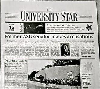 University Star - Image: University Star Photo