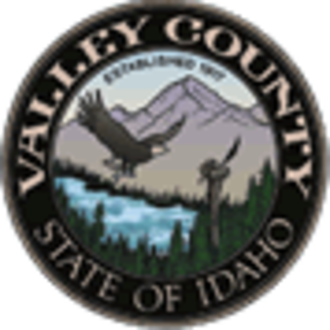 Valley County, Idaho - Image: Valley County, Idaho seal