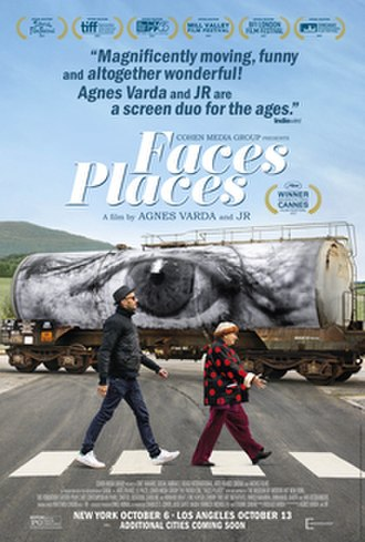 Faces Places (film) - Theatrical release poster