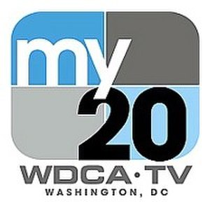 "WDCA - WDCA's second ""My 20"" logo, used from June 2006 to July 2017"