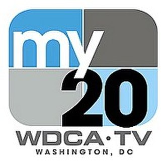 """WDCA - WDCA's second """"My 20"""" logo, used from June 2006 to July 2017"""