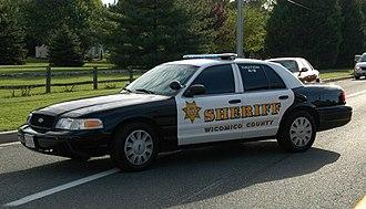 Wicomico County, Maryland - Wicomico County Sheriff's Deputy Patrol