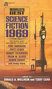 <i>Worlds Best Science Fiction: 1969</i> book by Donald A. Wollheim