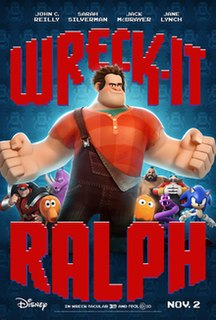 <i>Wreck-It Ralph</i> 2012 American computer-animated family-comedy film produced by Walt Disney Animation Studios