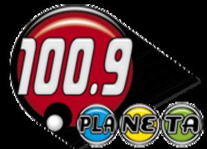 XHKC-FM - Image: XEKC XHKC 100.9planeta logo