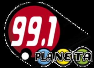 XHEPR-FM - Image: XHEPR Planeta 99.1 logo