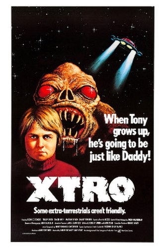 Xtro - Theatrical release poster
