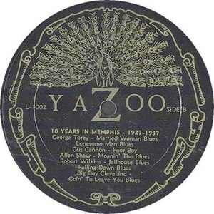 Yazoo Records - The Yazoo peacock