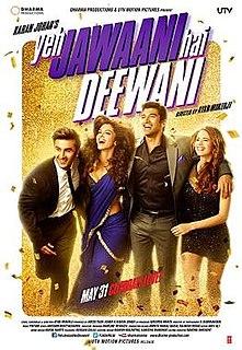 <i>Yeh Jawaani Hai Deewani</i> 2013 Hindi film directed by Ayan Mukerji