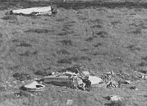 Wreckage of SA 228