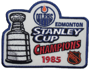 1985 Stanley Cup Finals - Image: 1985 NHL Stanley Cup Playoffs