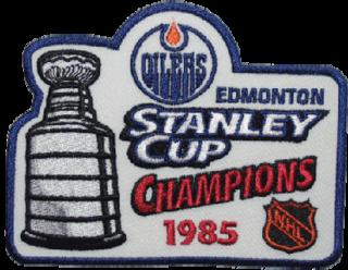 1985 ice hockey championship series