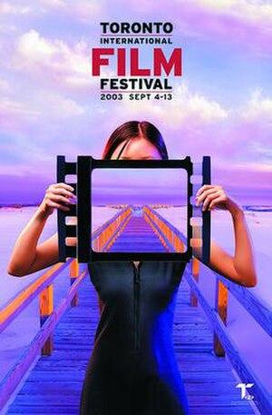 2003 Toronto International Film Festival - Festival poster
