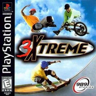 3Xtreme - Image: 3Xtreme Cover