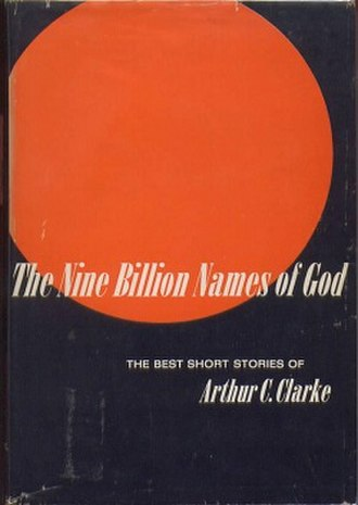 The Nine Billion Names of God (collection) - Cover of the first edition