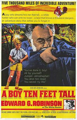 "Sammy Going South - United States theatrical poster for ""A Boy Ten Feet Tall"""
