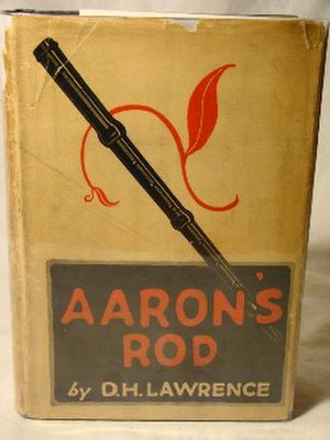 Aaron's Rod (novel) - First edition (US, publ, Thomas Seltzer)