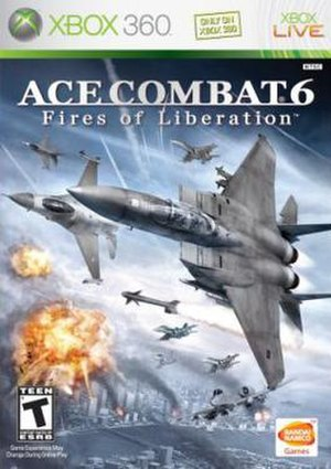 Ace Combat 6: Fires of Liberation - Image: Ace Combat 6 Fires of Liberation Game Cover