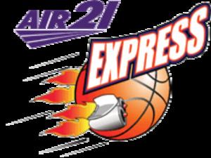 Barako Bull Energy - Image: Air 21 Express