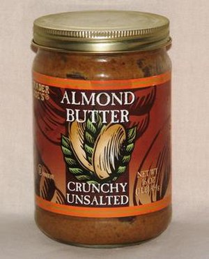 Almond butter - Image: Almond butter