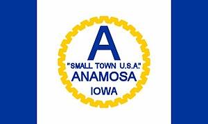 Anamosa, Iowa - Image: Anamosa flag