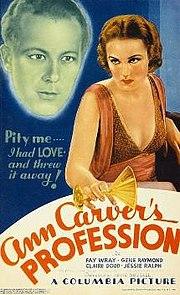 Ann Carver's Profession - Wikipedia