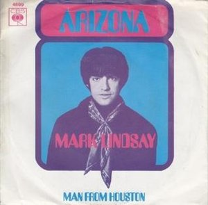 Arizona (song) - Image: Arizona Mark Lindsay