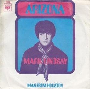 Arizona (song) - Image: Arizona Mark Lindsay