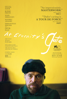 Image result for at eternity's gate poster