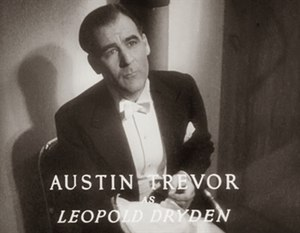 Austin Trevor - in Death at Broadcasting House (1934)