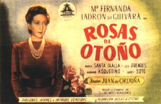 Autumn Roses (1943 film) - Image: Autumn Roses 1943