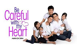 Be Careful With My Heart - Title card from June 25, 2014 to October 17, 2014
