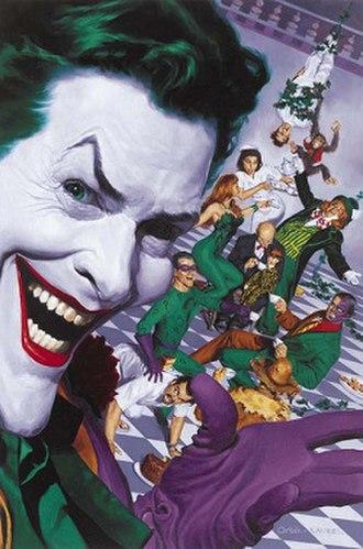 Arkham Asylum - Image: Batman's Rogues at Arkham Asylum