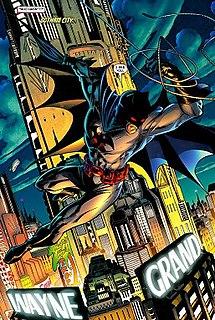 Batman (Thomas Wayne) superhero's incarnation by the fictional character Thomas Wayne in some Batman comic books