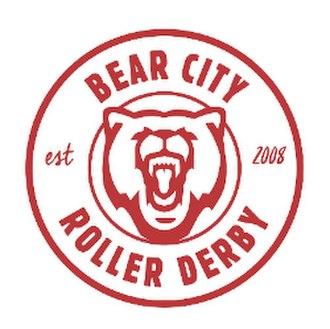 Bear City Roller Derby - Secondary Bear City logo