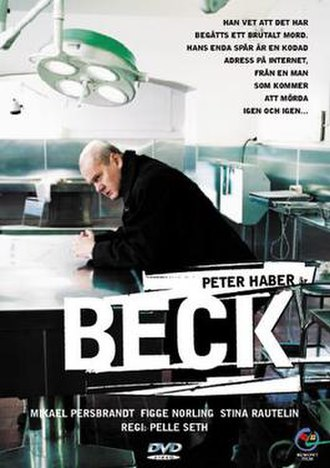 Beck (film) - Swedish DVD-cover