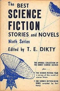 <i>The Best Science Fiction Stories and Novels: Ninth Series</i> book by T. E. Dikty