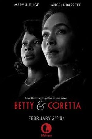 Betty & Coretta - Television release poster