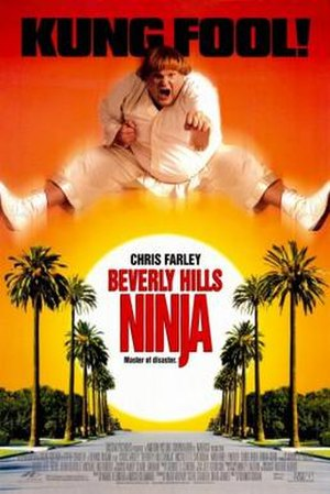 Beverly Hills Ninja - Theatrical release poster