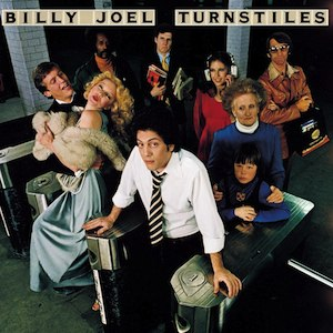 Turnstiles (album) - Image: Billy Joel Turnstiles