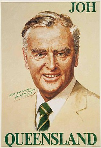 Joh for Canberra - Sir Joh Bjelke-Petersen successfully cultivated an image as a hard-working, Queensland 'everyman'.