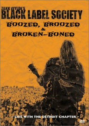Boozed, Broozed, and Broken-Boned - Image: Bls brokenboned dvdcover