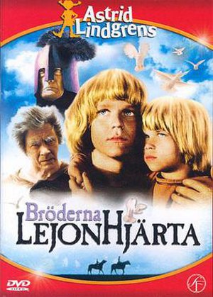 The Brothers Lionheart (1977 film) - Swedish DVD cover