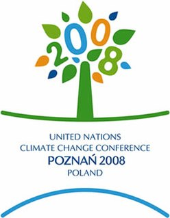 2008 United Nations Climate Change Conference international climate change conference in Poznań, Poland in December 2008