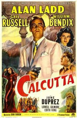 Calcutta (1947 film) - Theatrical release poster