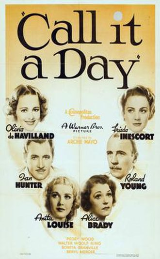 Call It a Day - Image: Call It a Day 1937 Poster