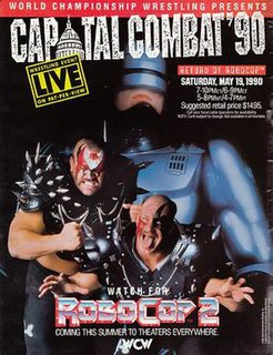 Capital Combat 1990 World Championship Wrestling pay-per-view event