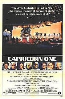 <i>Capricorn One</i> 1978 thriller film by Peter Hyams