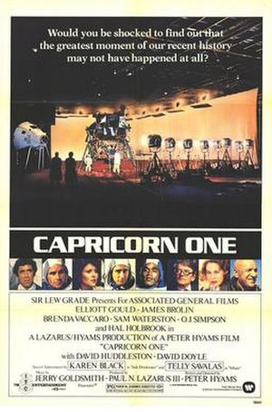 Capricorn One - Theatrical release poster