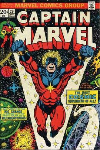 Captain Marvel (Mar-Vell) - Image: Captain Marvel 29
